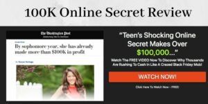 100K Online Secret Review: What's Up With The Redirect?