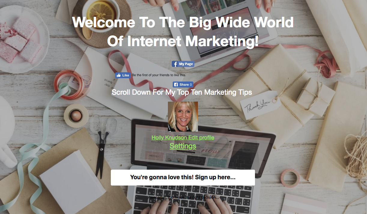 Create Landing Pages That Convert
