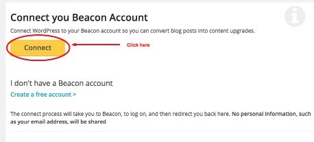 connect beacon account graphic