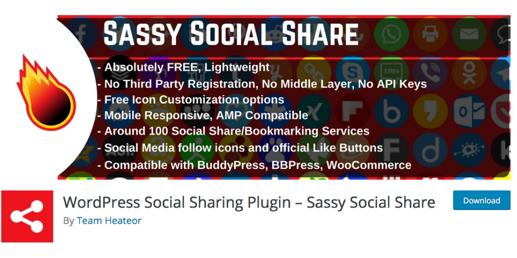 social sassy share graphic
