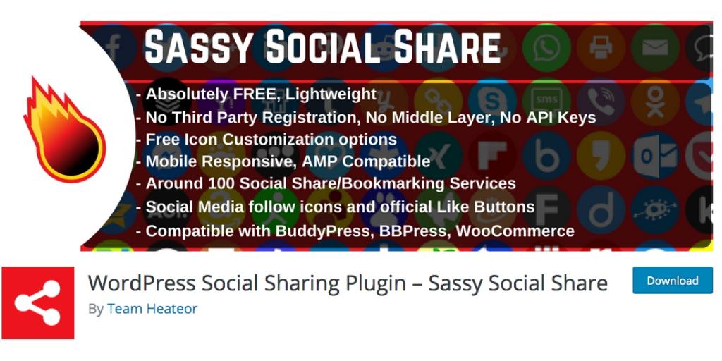 social sassy share graphic