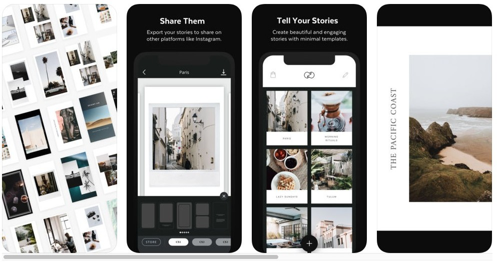 How To Create An Instagram Story - Unfold Instagram App