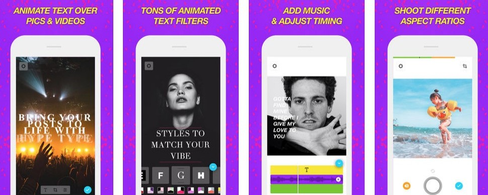 How To Create An Instagram Story - Hype Type Instagram App