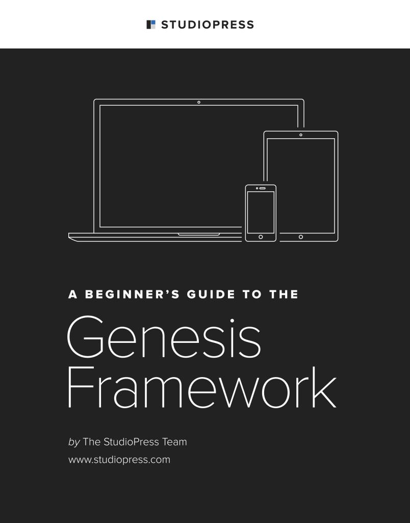 Genesis frameword guide