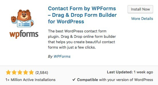 WPForms Plugin - Logo