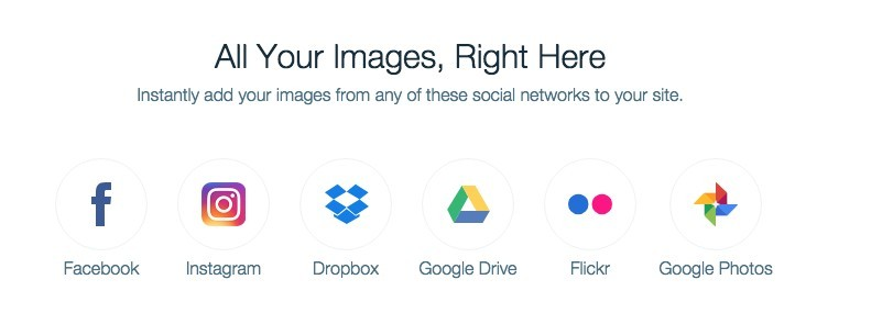Wix social icons