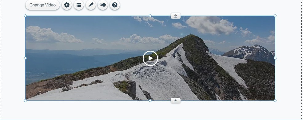 Wix video editor
