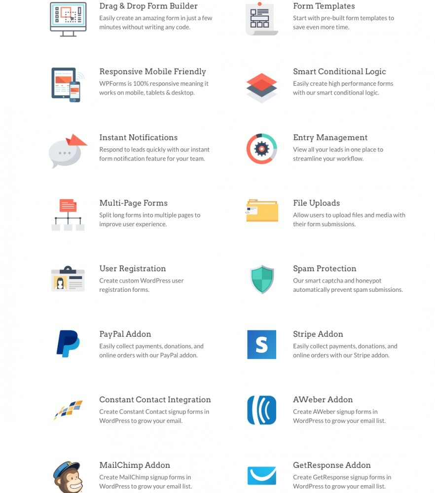 WPForms for WordPress - Forms Addons