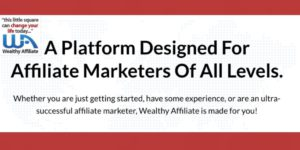 a platform for affiliate marketers graphic