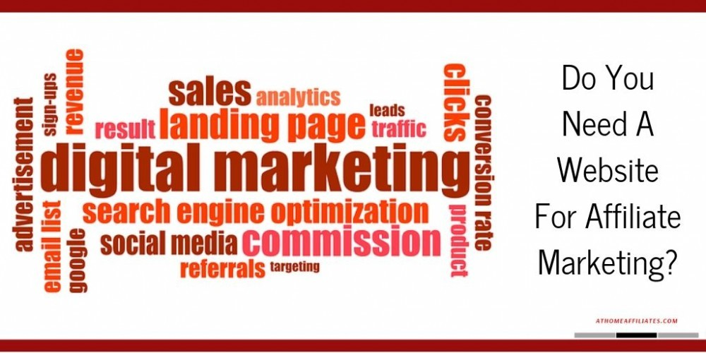 Do You Need A Website For Affiliate Marketing - SEO Graphic