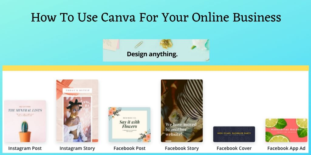 How To Use Canva - Canva Graphic