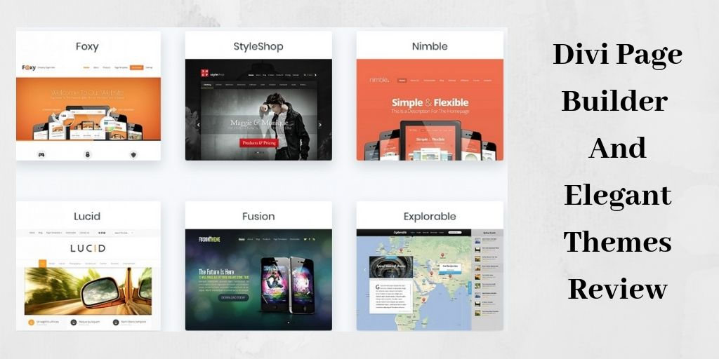 Elegant Themes Predefined Layouts