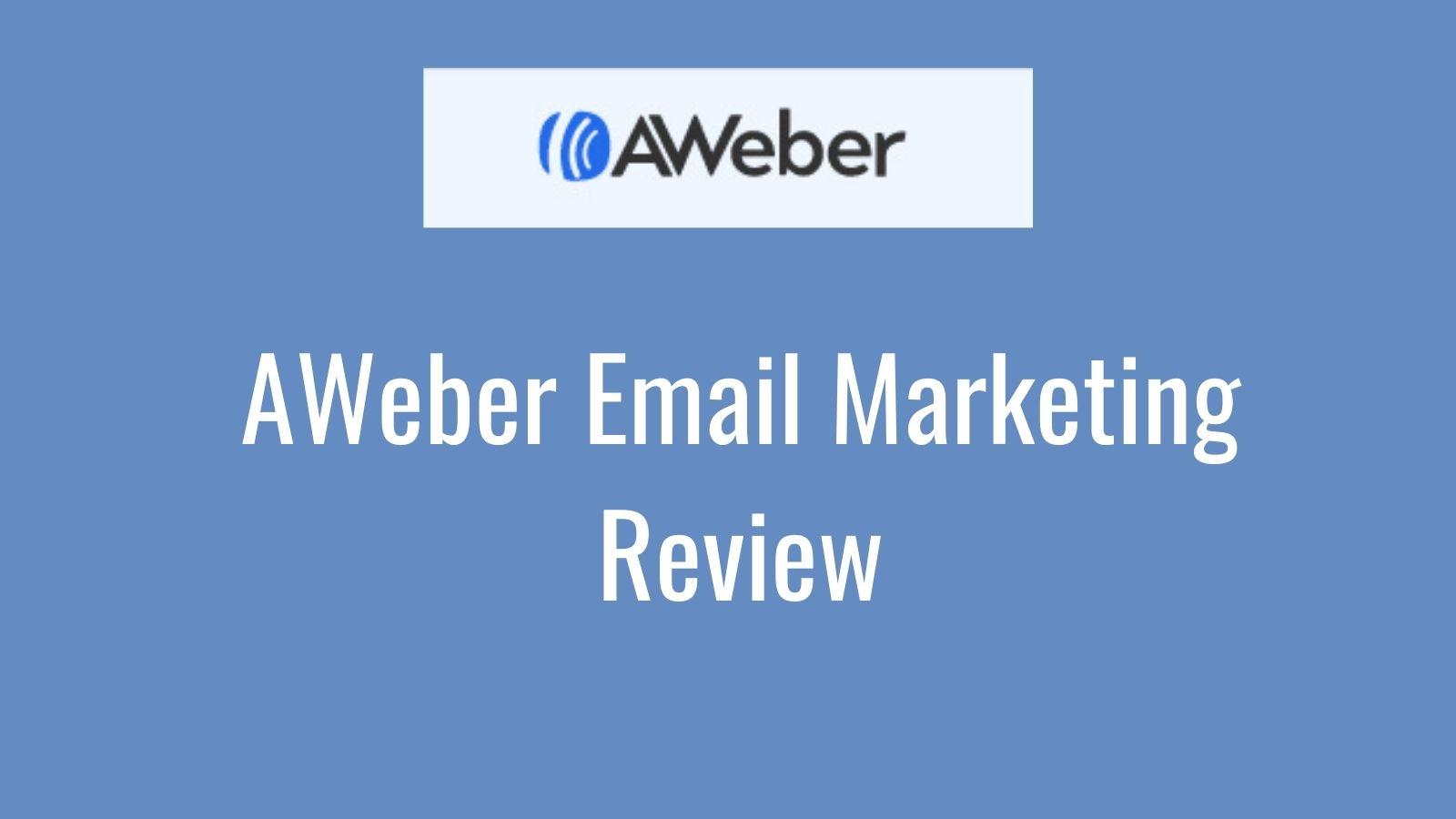 AWeber Email Marketing Review - AWeber Logo