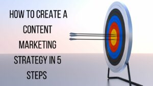 Create A Content Marketing Strategy - Arrows Hitting Bull's Eye