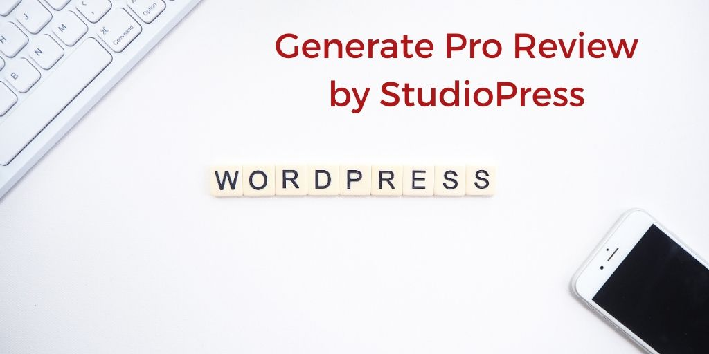 StudioPress Themes [Generate Pro Review]