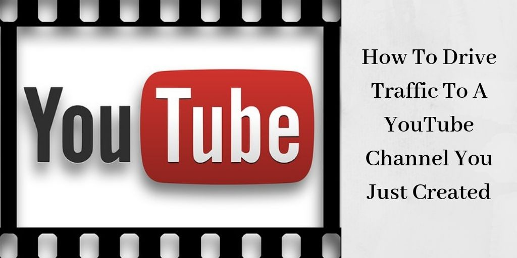 How To Drive Traffic To A YouTube Channel - YouTube Logo