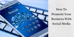 smartphone with social media logos