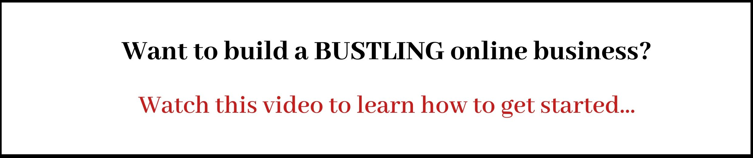 How To Write An Ebook Step By Step - Wealthy Affiliate's Training Course - Build A Business Banner