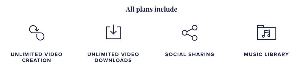 Animoto Video Maker - What Plans Include