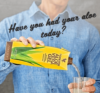 Forever Living Review - Man Pouring Aloe Vera Drink
