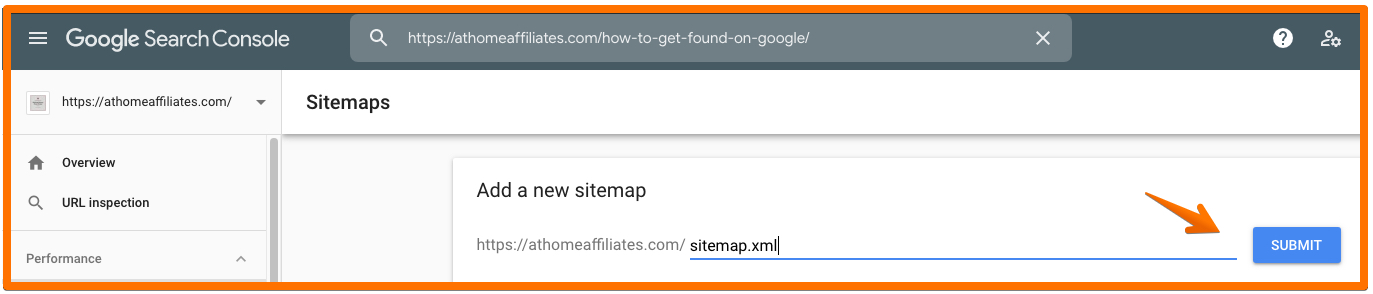 How To Rank Higher In The Search Engines - Submitting A Sitemap Graphic