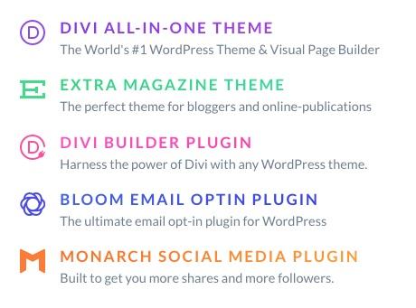 Top WordPress Themes - Elegant Themes