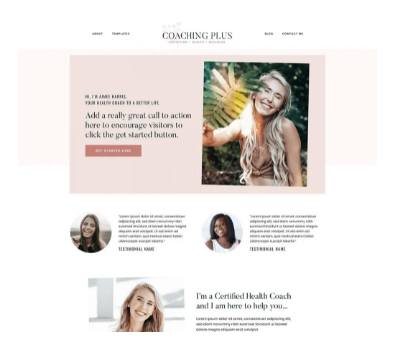 Top WordPress Themes  - StudioPress Coaching Theme