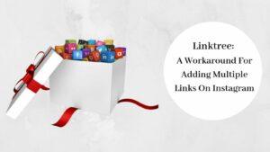 Multiple Links On Instagram - Social Media Icons In Gift Box