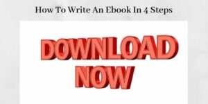 How To Write An Ebook Step By Step - The Words Download Now