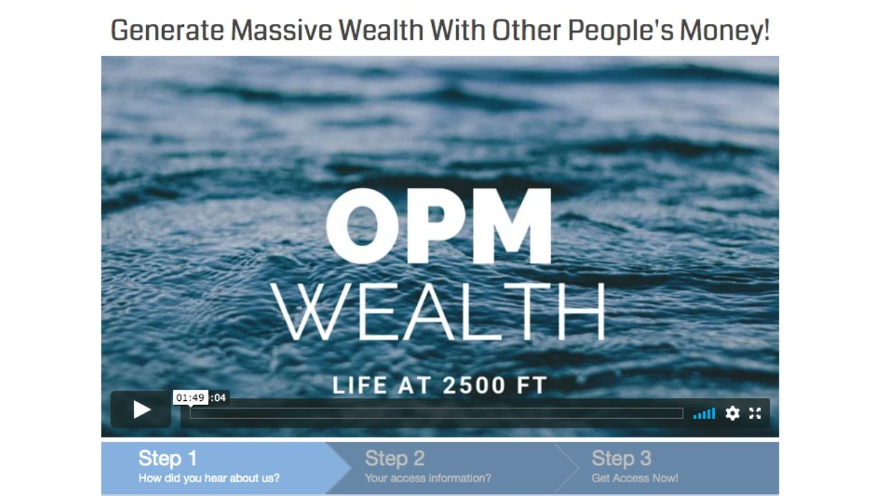 OPM Wealth Review - Intro Movie