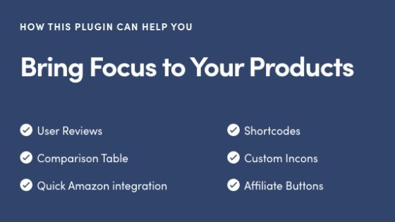 WP Product Review plugin graphic