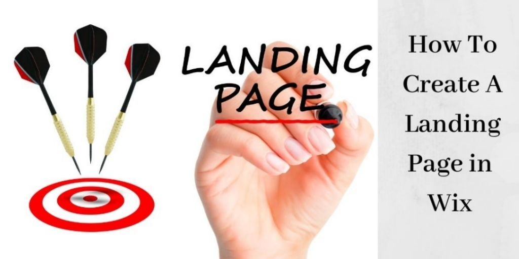 How To Create A Landing Page In Wix - Three Arrows