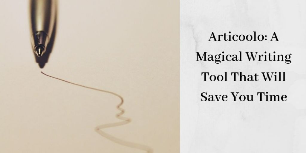 Articoolo: A Magical Writing Tool That Will Save You Time - Pen With Scribbles