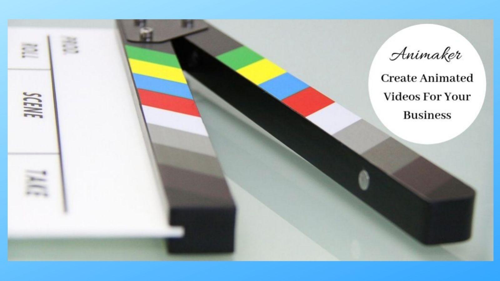 Animaker Review - Video Clapper Board