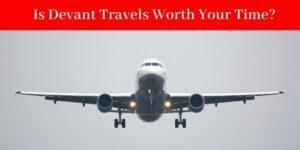 devant travels - airplane in flight