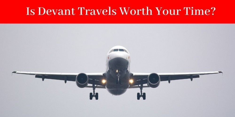 Devant Travels review - Plane In Flight