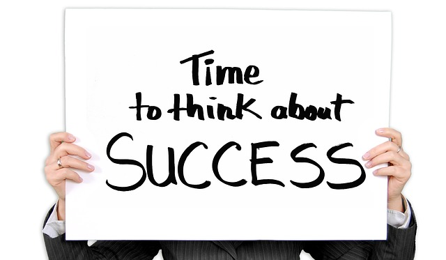 quote: time to think about SUCCESS