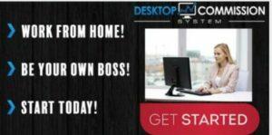 desktop commission system graphic