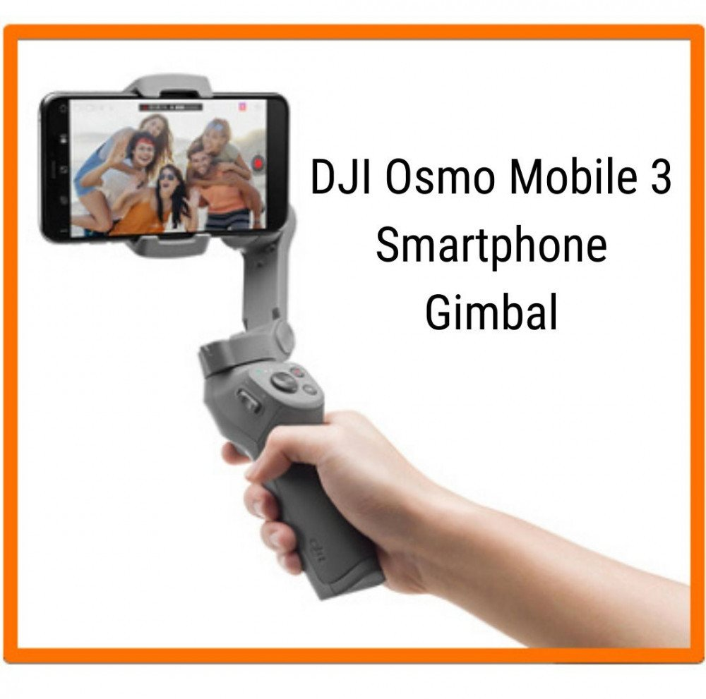 what Is A Gimbal - DJI Osmo Gimbal Graphic