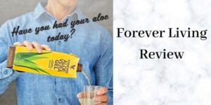 Forever Living Review - Man Pouring Aloe Vera Juice