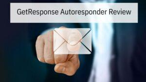 GetResponse Autoresponder Review - Man's Finger on Envelope Icon