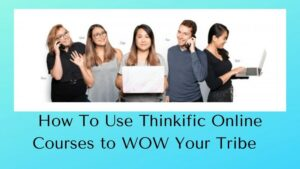 Thinkific Online Courses - Group of People Working Online