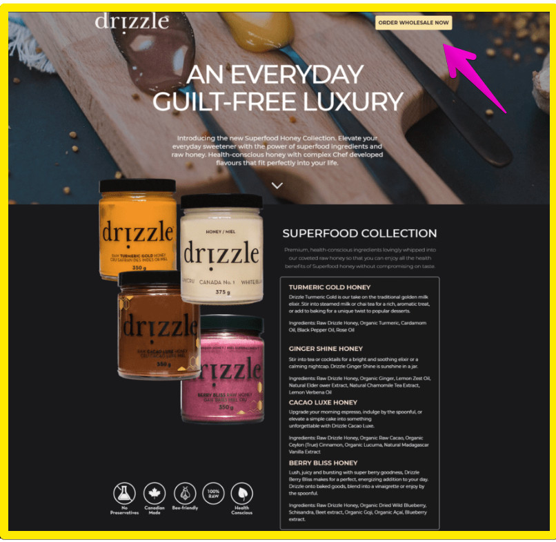 Unbounce Landing Pages - Drizzle Landing Page