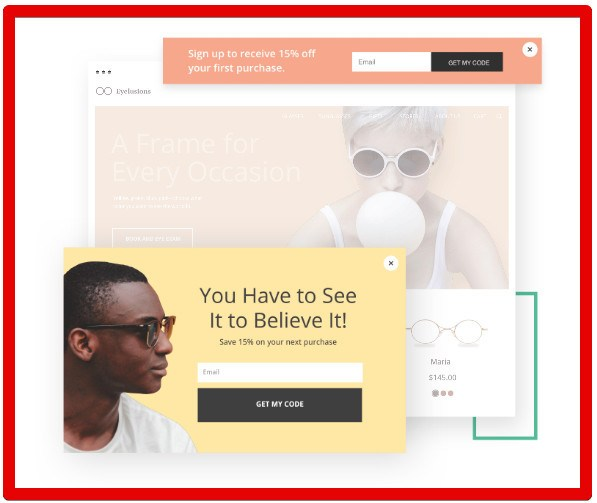 Unbounce Landing Pages - Popup Template