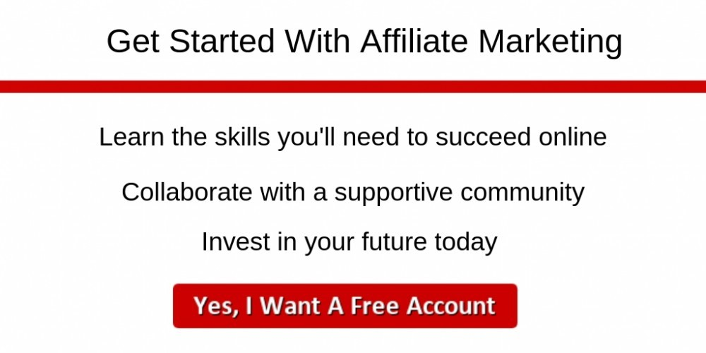 Wealthy Affiliate Get Started With Affiliate Marketing Banner